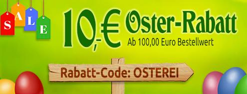 10% Osterrabatt