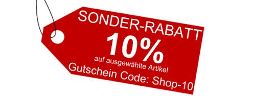 10% Sonderrabatt